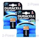Duracell Ultra Power 9V 2-Pack