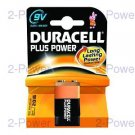 Duracell Plus Power 9v 1-Pack