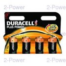 Duracell Plus Power C 4-Pack