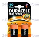 Duracell Plus Power 9V 2-Pack