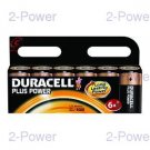 Duracell Plus Power C 6-Pack