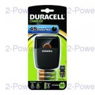 Duracell 1h Laddare + 2 x AA/AAA Cells