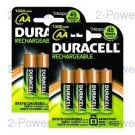 Duracell Uppladdningsbara AA 8 Pack