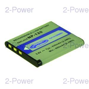 Digitalkamera Batteri Casio 3.6v 630mAh (NP-120)