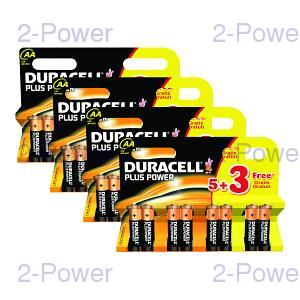Duracell Plus Power AA 4 x MN1500B5+3