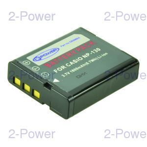 Digitalkamera Batteri Casio 3.7v 1600mAh (NP-130)