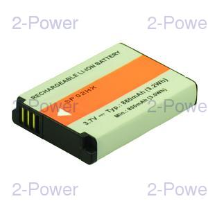 Digitalkamera Batteri Samsung 3.7v 850mAh (BP85A)