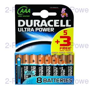 Duracell Ultra Power AAA 5 + 3 Gratis
