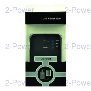 Universal Power Bank 2.1A 5000mAh