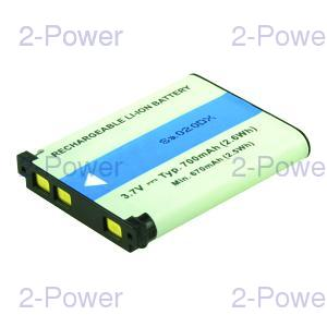 Digitalkamera Batteri Sanyo 3.7v 700mAh (02491-0053-00)