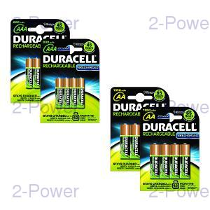 Duracell PreCharged AA / AAA 8 Pack