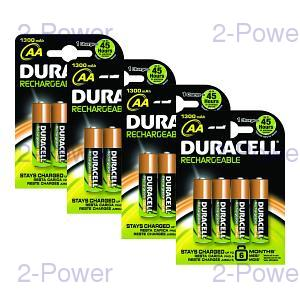 Duracell Uppladdningsbara AA 16 Pack