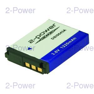 Digitalkamera Batteri Sony 3.6v 1220mAh (NP-FR1)