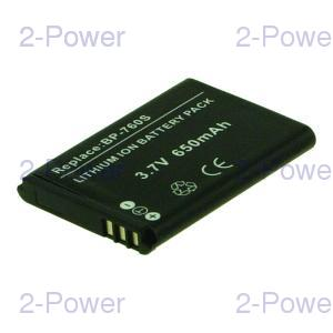 Digitalkamera Batteri Kyocera 3.7v 600mAh (BP-760S)