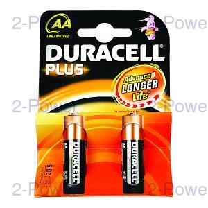 Duracell Plus AA 2 Pack
