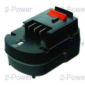 2-Power Verktygsbatteri Black & Decker 12v 2000mAh (A12-XJ)