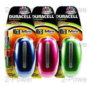 Duracell Mini Laddare Färg 6 Pack