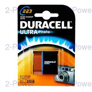 Duracell Ultra M3 6v Lithium 1 Pack (72X8498)